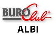 Logo de Buroclub Albi, un tiers lieu de télétravaile t de coworking, situé en proche périphérie d'Albi
