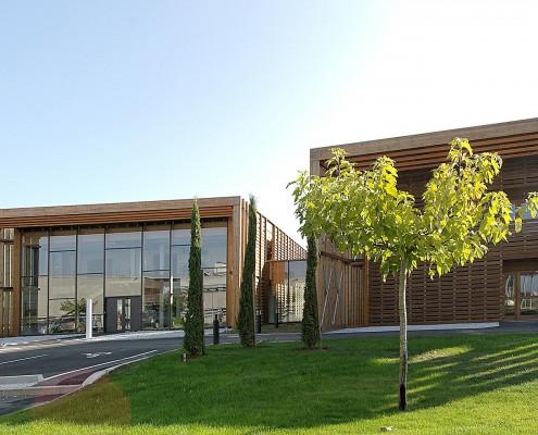 Buroclub Albi - les extérieurs - Cowork'in Tarn le réseau du télétravail et coworking Tarnais