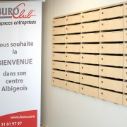 Buroclub Albi - boite aux lettres et domiciliation - Cowork'in Tarn le réseau du télétravail et coworking Tarnais