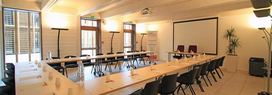 Buroclub Albi - salle de réunion - Cowork'in Tarn le réseau du télétravail et coworking Tarnais