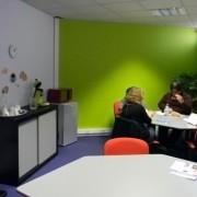 ITmédia2 à Castres - salle de convivialité - Cowork'in Tarn le réseau du télétravail et coworking Tarnais