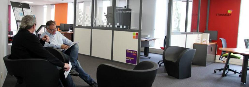 ITmédia2 à Castres - L'accueil - Cowork'in Tarn le réseau du télétravail et coworking Tarnais