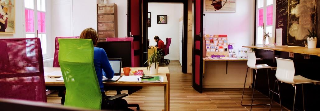 Etincelle Coworking Albi – espace de coworking – Corwork'in Tarn le réseau du télétravail et coworking Tarnais