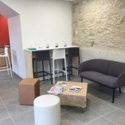 La Céllule à Cuq Toulza - Espace de convivialité - Cowork'in Tarn le réseau du télétravail et coworking Tarnais
